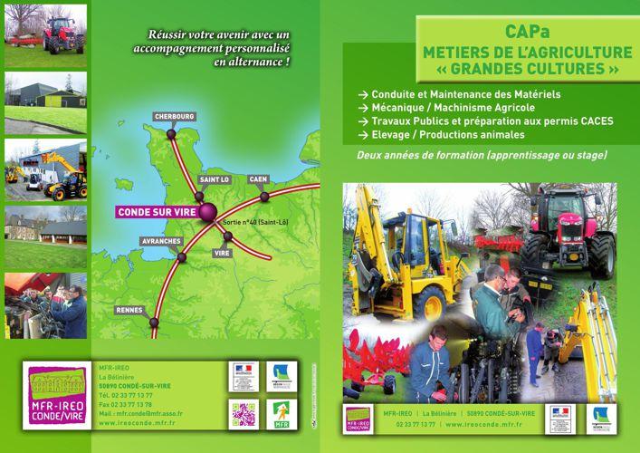 CAPA Métiers de l'Agriculture - Grandes cultures