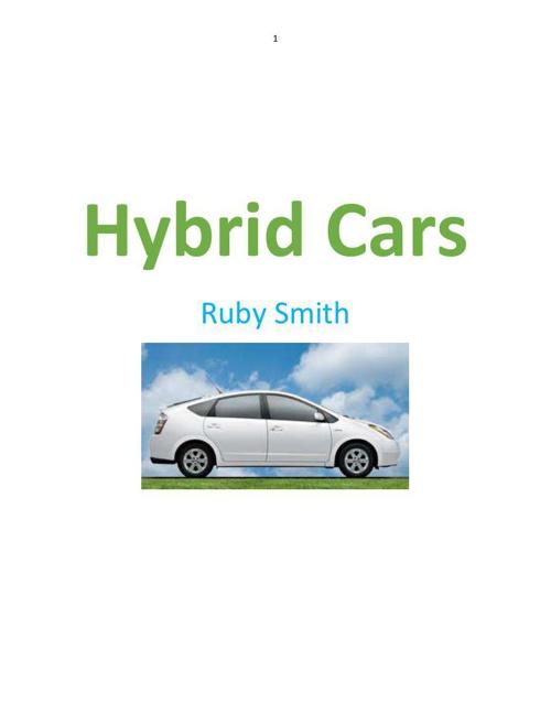 Hybrid Cars Energy Efficiency