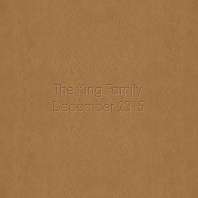 King Family 2015 DRAFT Book
