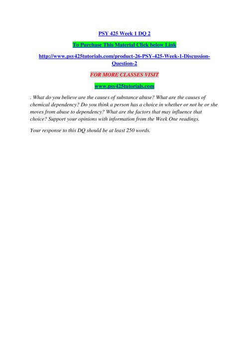 PSY 425 TUTORIALS Real Success/psy425tutorials.com
