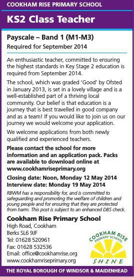 KS2 Teacher Vacancy