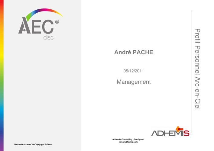 Profil André Pache