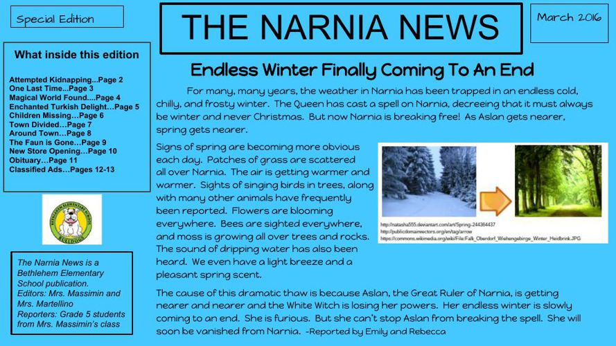 The Narnia Chronicle