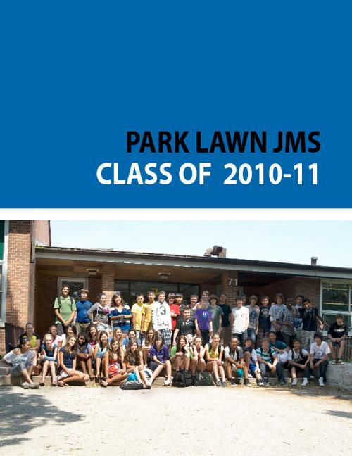 Park Lawn JMS - Class of 2010-2011