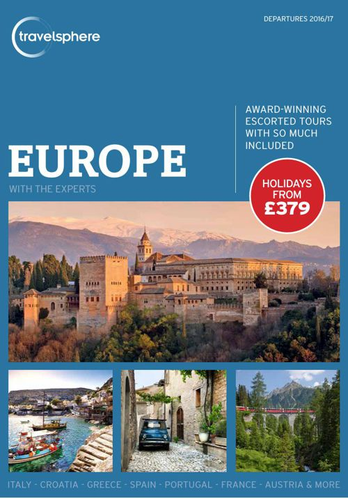 Travelsphere Europe 2016-17 Brochure - Dec 2015