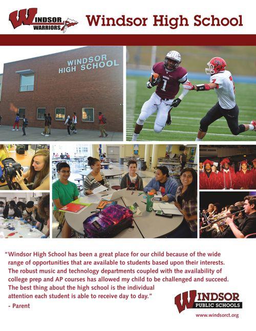 Windsor High School Brochure