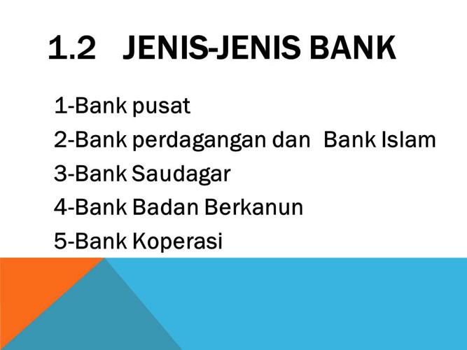 Nota Jenis-Jenis Bank