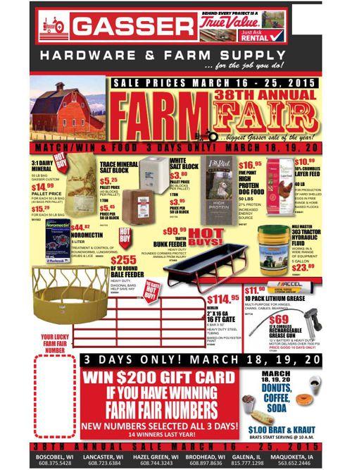 Farm Fair 2015