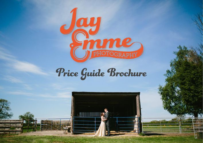 Jay Emme Photography - Wedding Price Guide Brochure