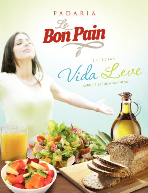 Folheto Le Bon Pain - Vida Leve