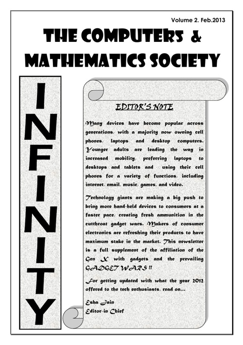 Mathcom Newsletter 2