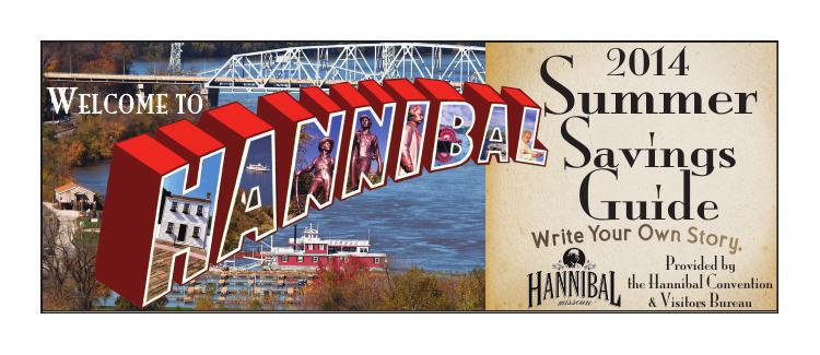 Hannibal Convention and Visitors Bureau Summer Savings Guide