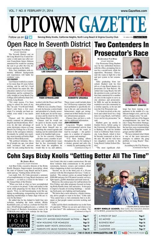 Uptown Gazette  |  February 21, 2014