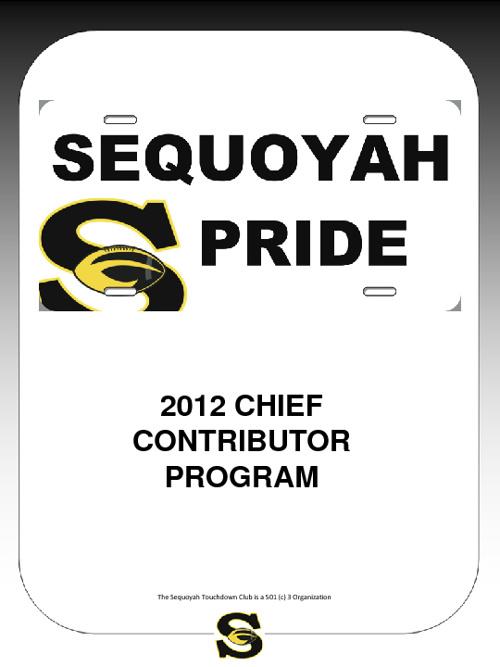 2012 Chief Contributor Program