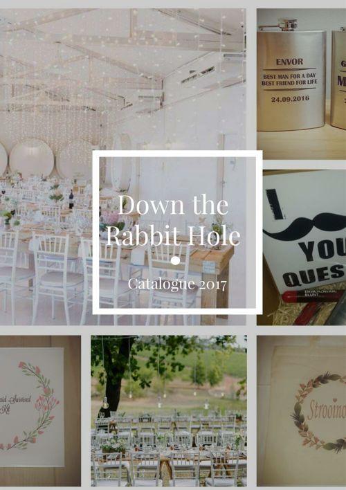 Down the Rabbit Hole catalogue 2017