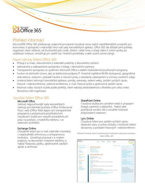 Office365FactSheet_cz