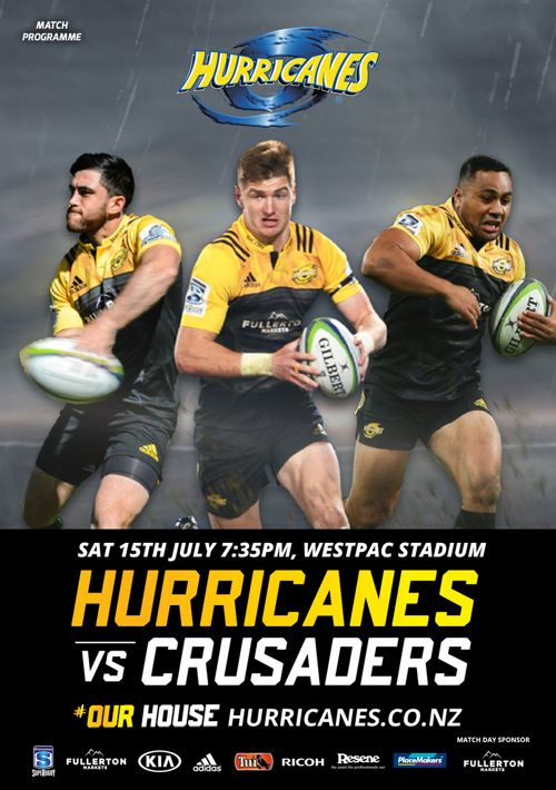 Hurricanes v Crusaders official e-programme