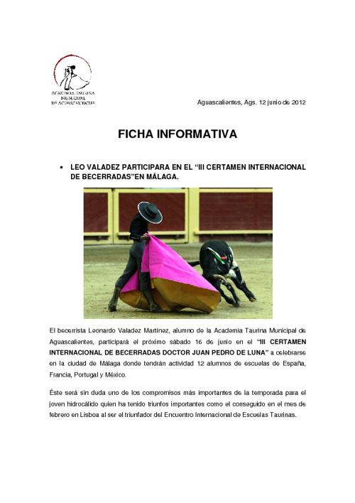 •LEO VALADEZ en Málaga