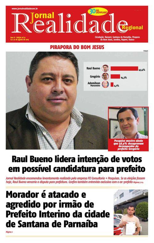 Jornal Realidade - Edição Especial