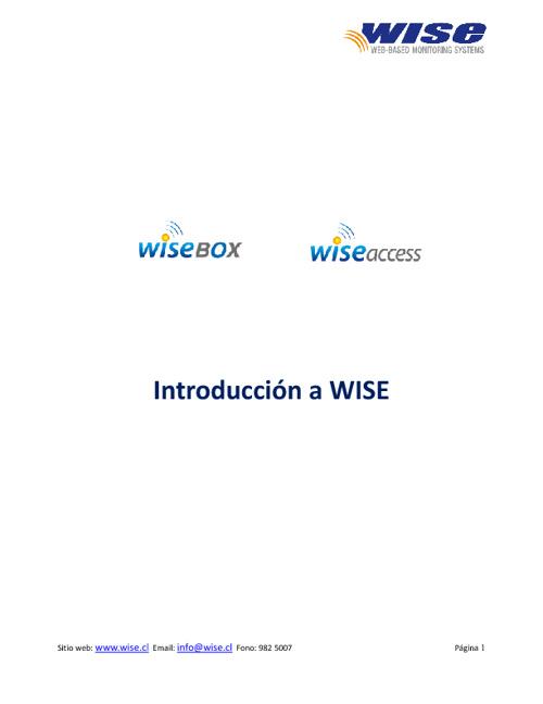 Intro WISE