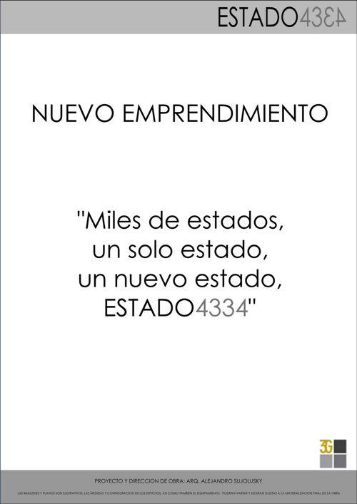 ESTADO 4334