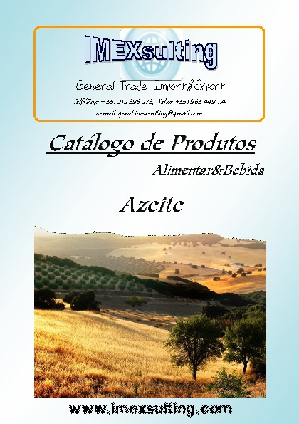 Catálogo Azeite