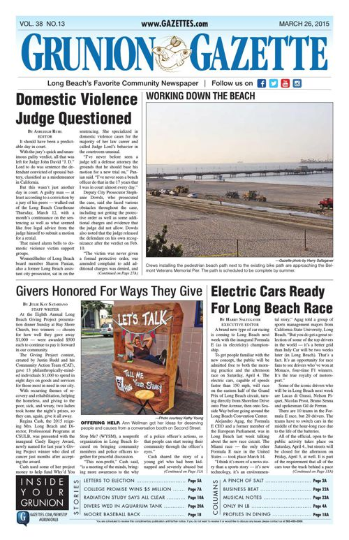 Grunion Gazette | March 26, 2015