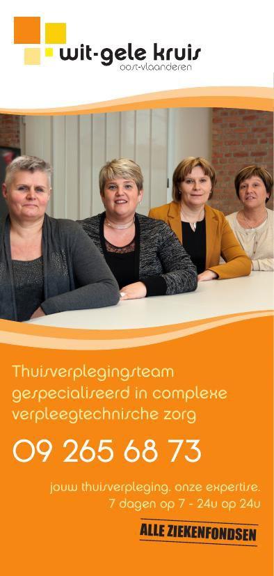 Thuisverplegingsteam gespecialiseerd in complexe verpleegtechnis