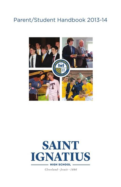 Saint Ignatius 2013-14 Student Handbook