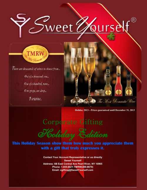 2013 Holiday Corporate Gifting Catalog