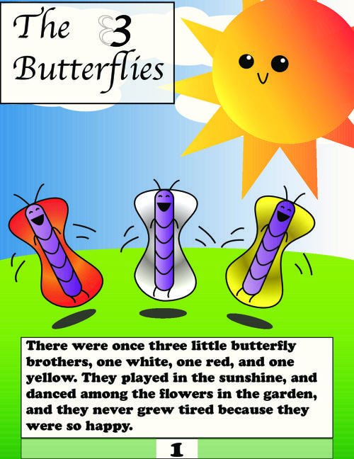 TheThreeButterflies