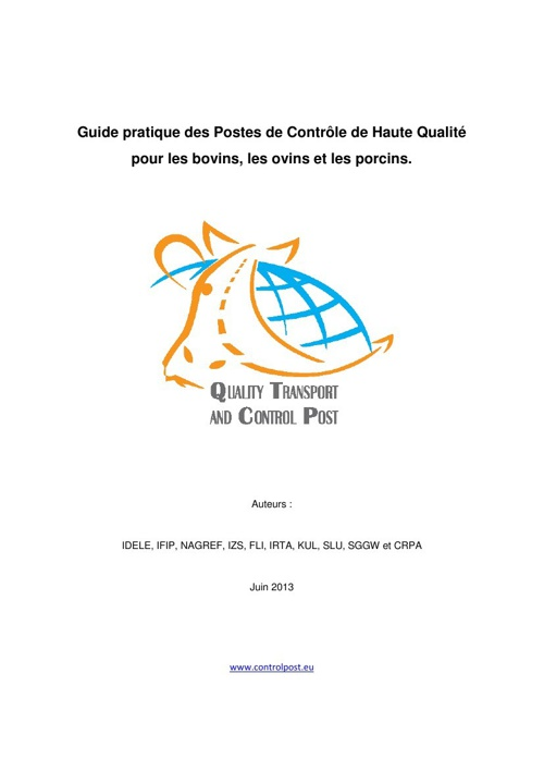 Quality Control Post (French)