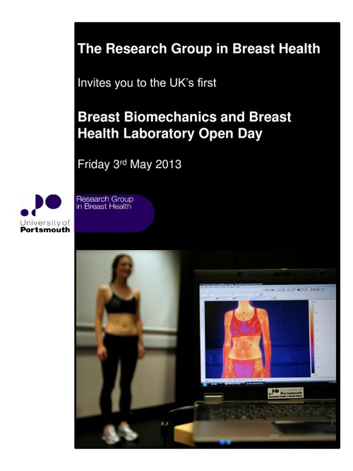 Breast Biomechanics Laboratory Invitation