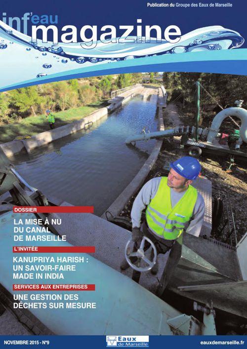 Inf'eau Magazine n°9 - Novembre 2015
