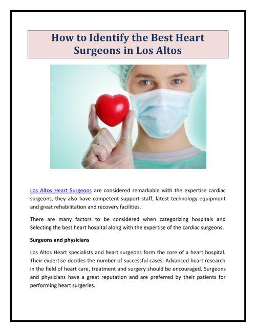 Moraga Heart Surgeons