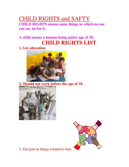 child rights and safty