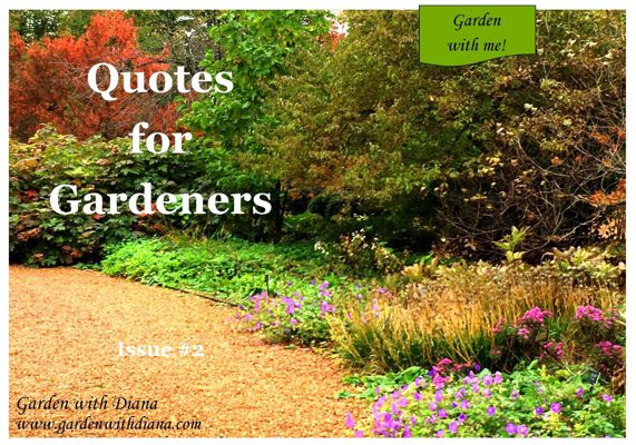 Quotes for Gardeners - Fall - Issue #2