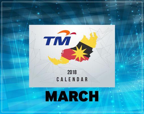 TM SARAWAK 2018 CALENDAR