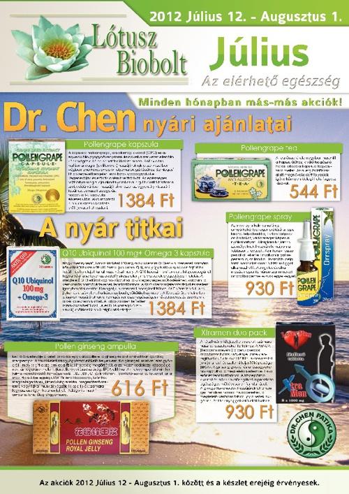 Lótusz Biobolt - Június