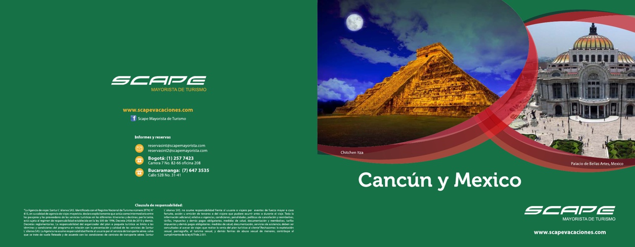 Cancun y Mexico