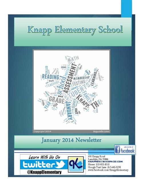 Knapp eNewsletter - January 2014