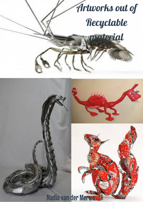 Creatures out of material