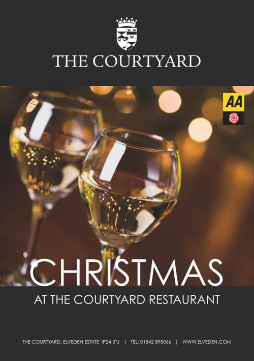 The Courtyard Restaurant Christmas Menu 2014