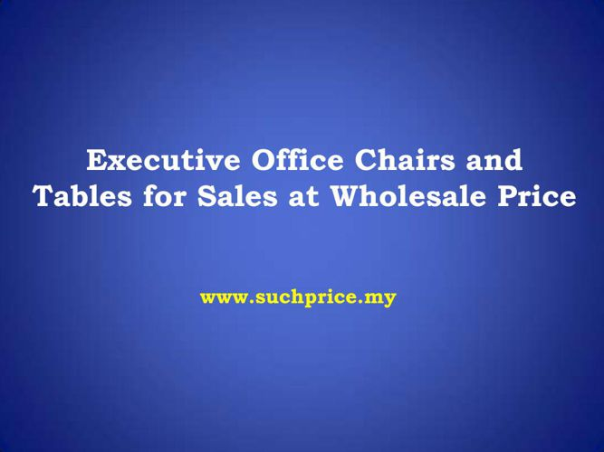 High Back Office Chair In Malaysia