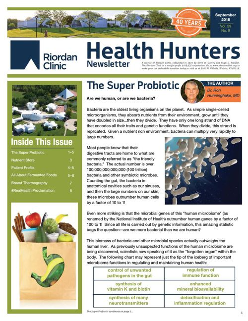 Health Hunters-Sept '15