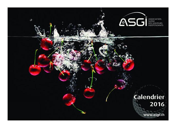 Calendrier ASGI 2016