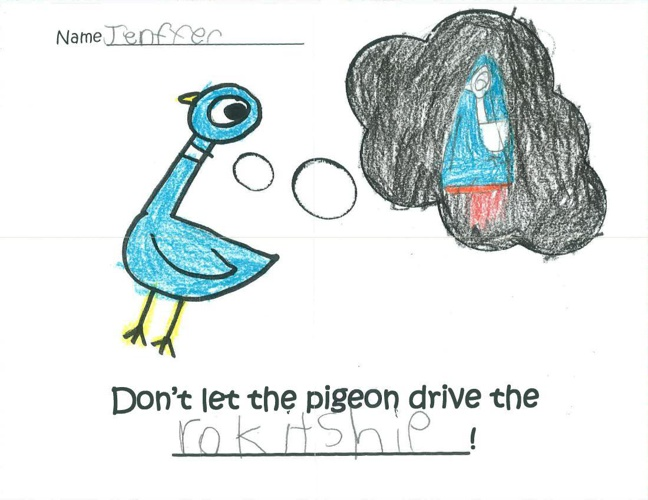 Don't Let the Pigeon Drive the...