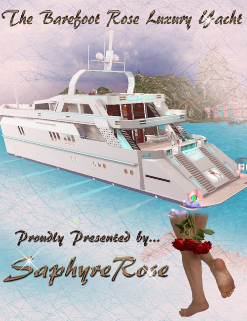The Bare Foot Rose Luxury Yacht