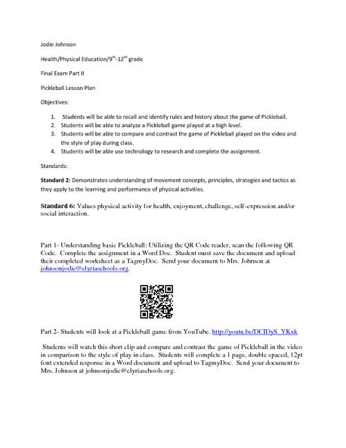 Apps For Educators-Final exam part II