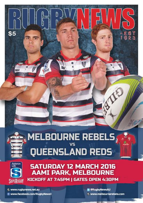 REBELS V REDS MATCH PROGRAM